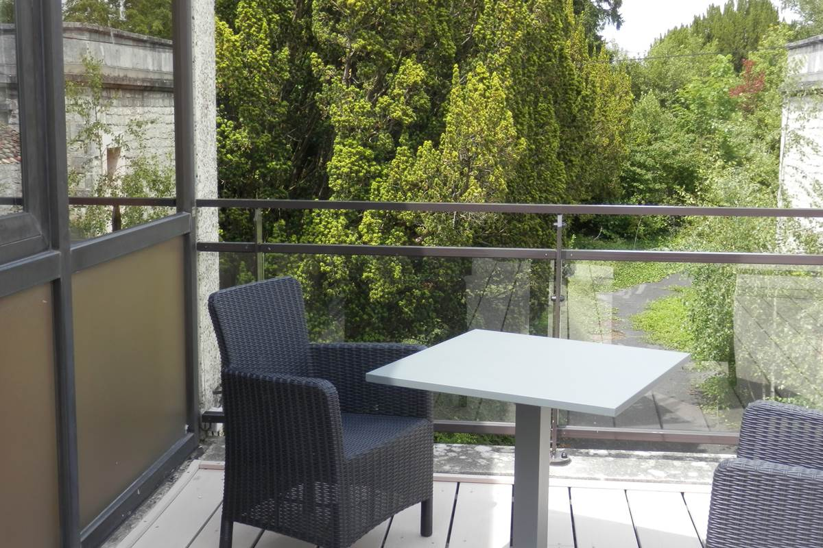 Terrasse privative du logement 3.