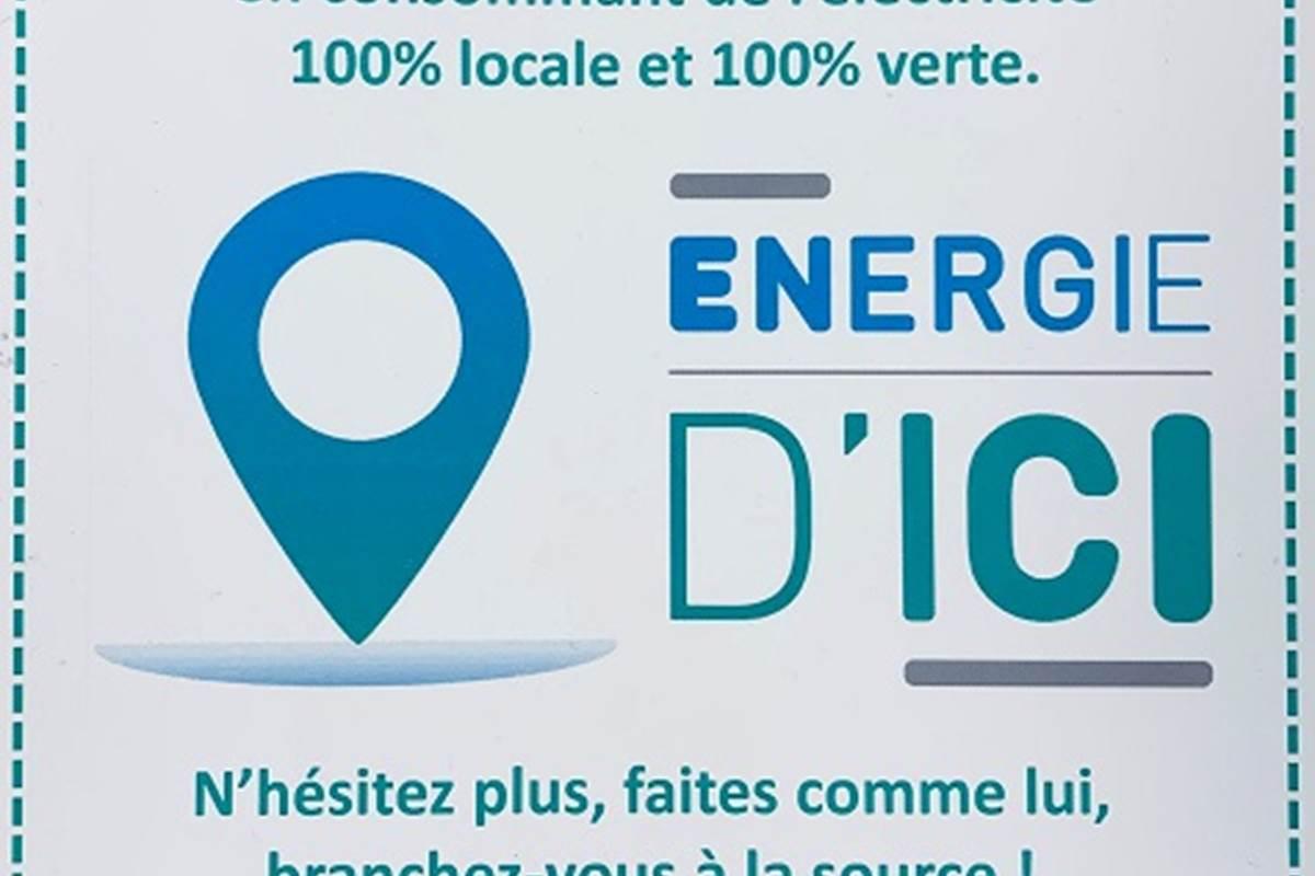 énergie d'ici notre fournisseur d'énergie verte et locale