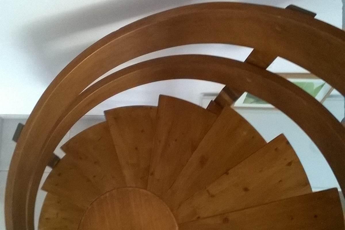 escalier vue d'audessus