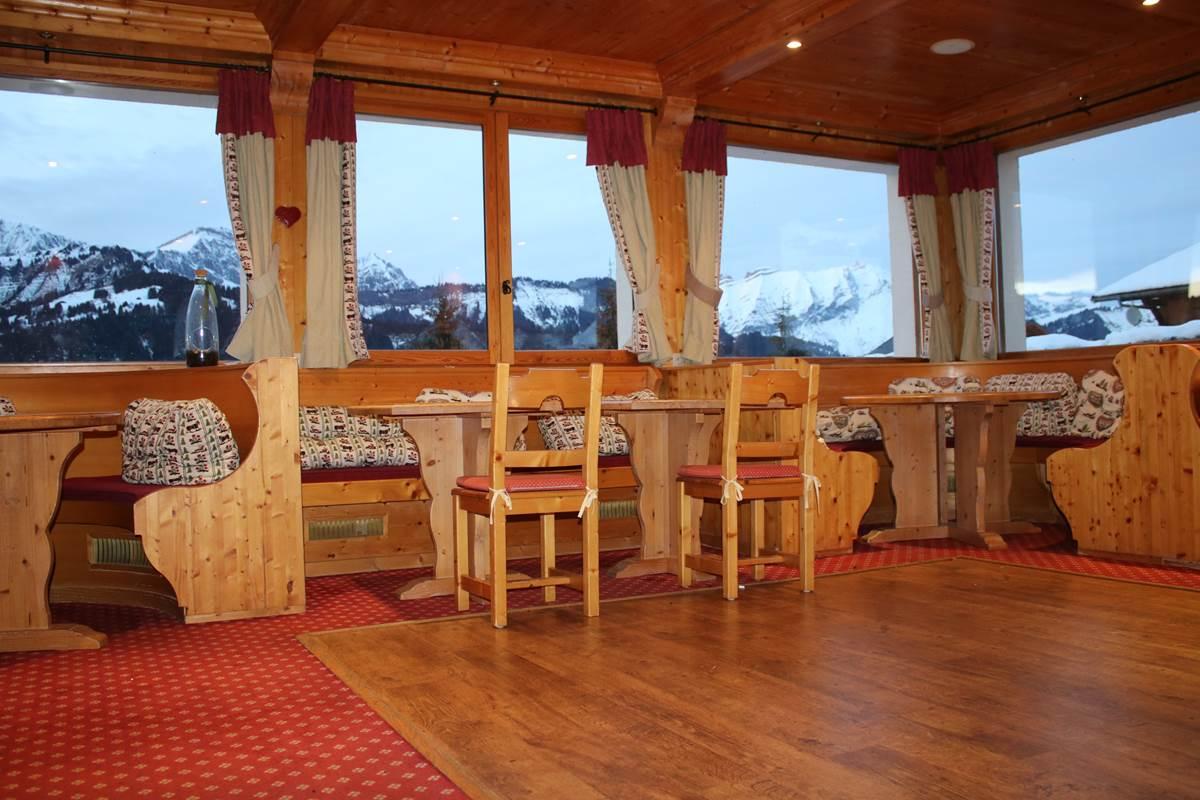 Restaurant La table de Diamant Crest-voland Hôtel au ski