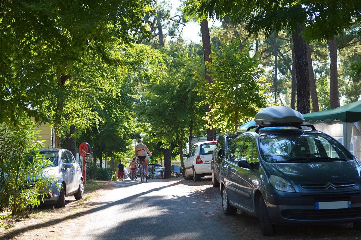 Emplacement Branché - Camping Les Pins - Ile d'Oléron