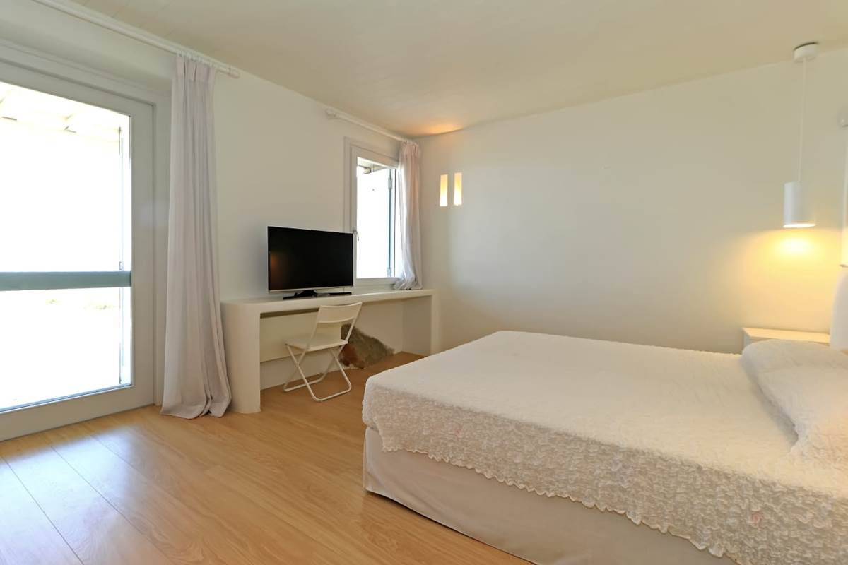 Chambre double villa zélia luxe Mykonos.
