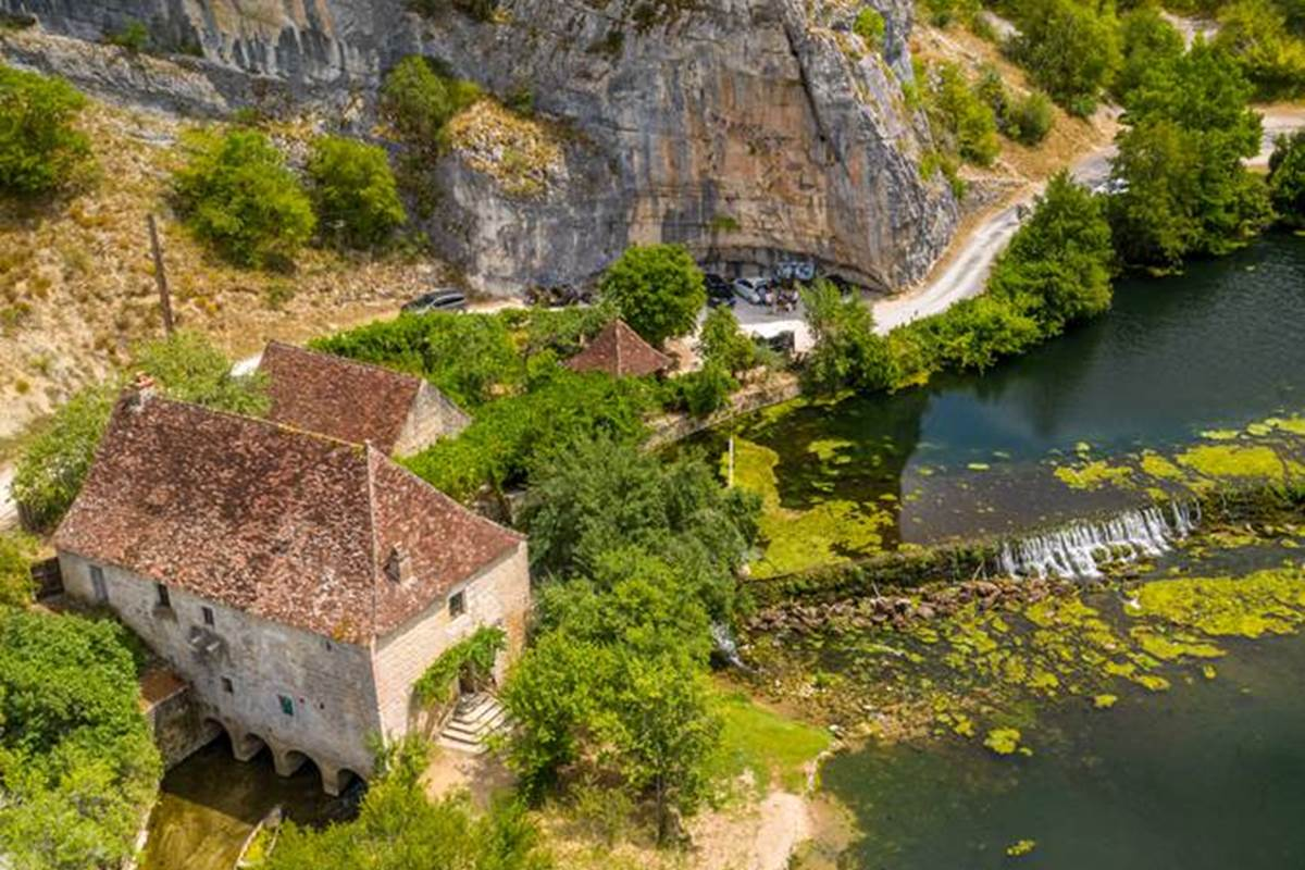 Moulin de Cougnaguet - Vallée de l'Ouysse