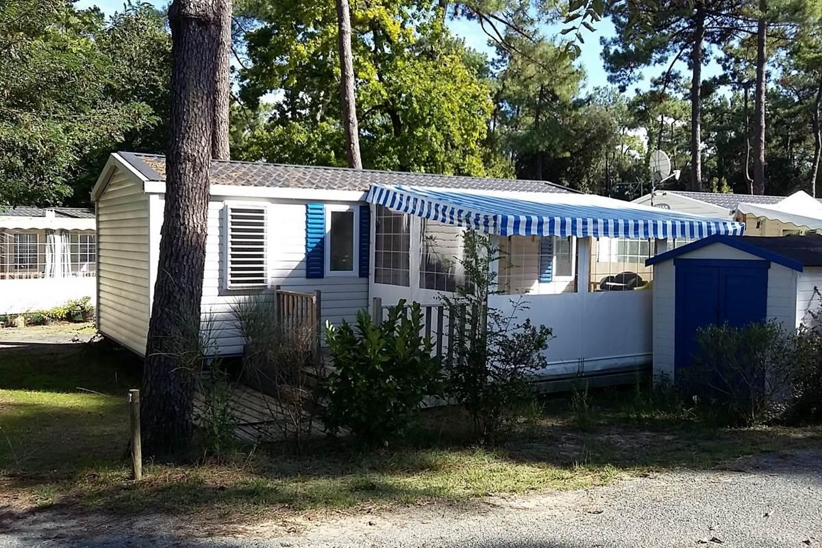 Mobil-Home Poulpe - Camping Les Pins d'Oléron - Ile d'Oléron