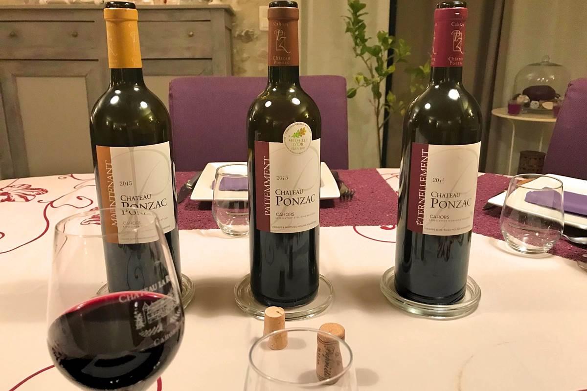 Table d'hôtes avec dégustation de vin