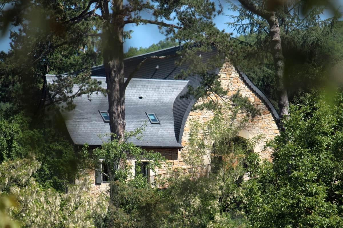 La grange et son architecture atypique