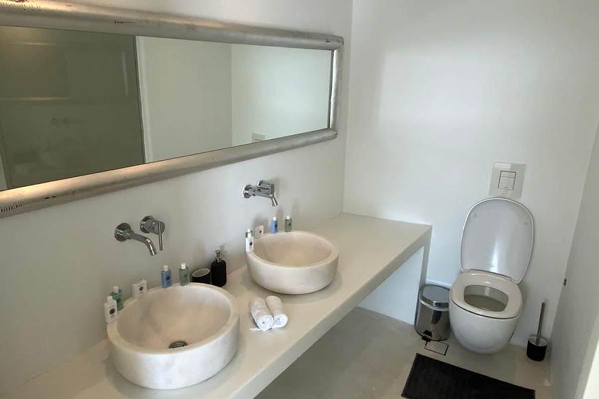 Salle de douche  Double vasque