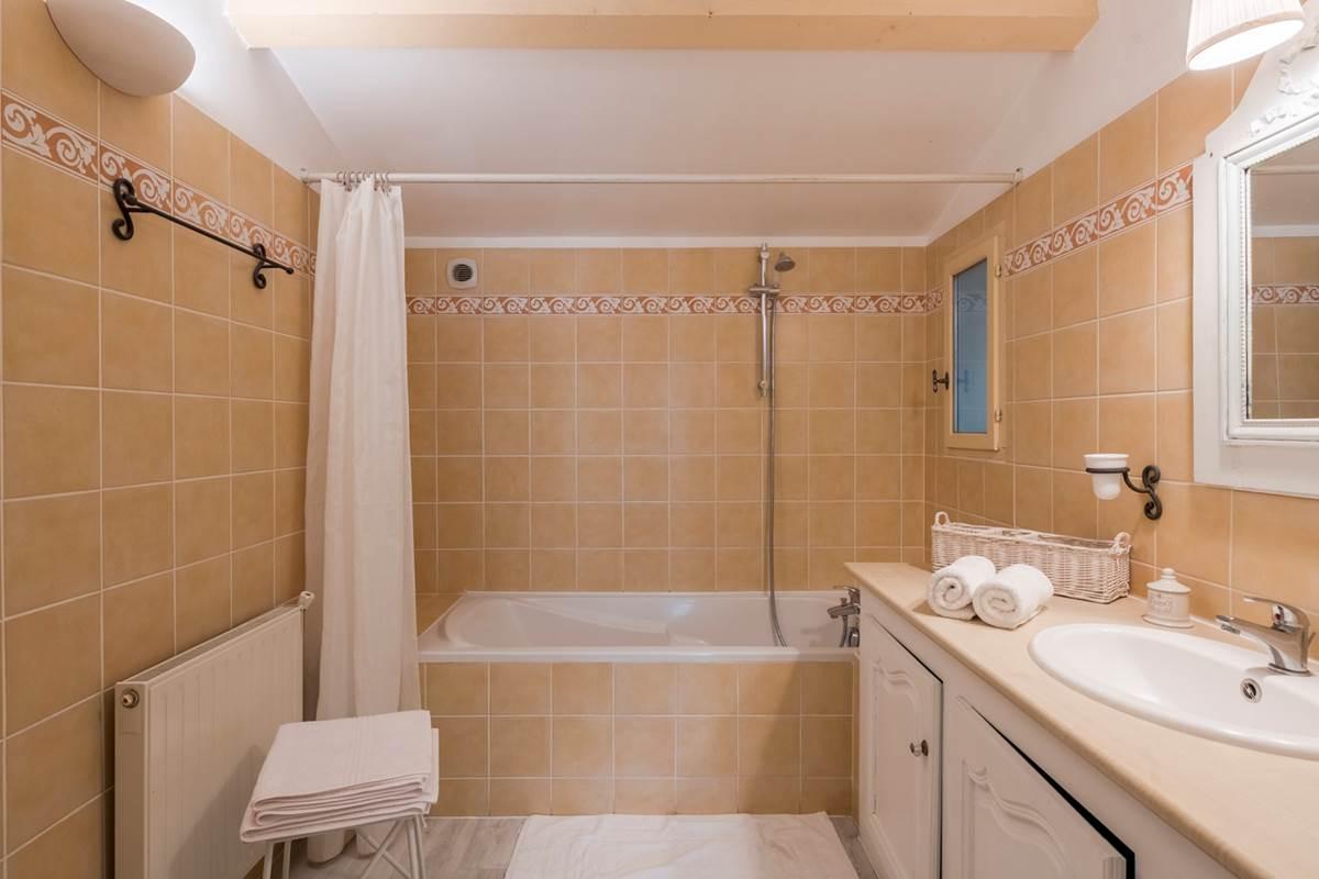 La salle de bain du petit gîte