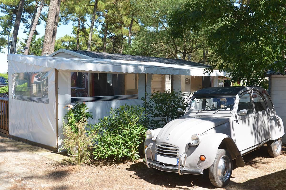 Mobil-Home Hippocampe 3ch - Camping Les Pins - Ile d'Oléron