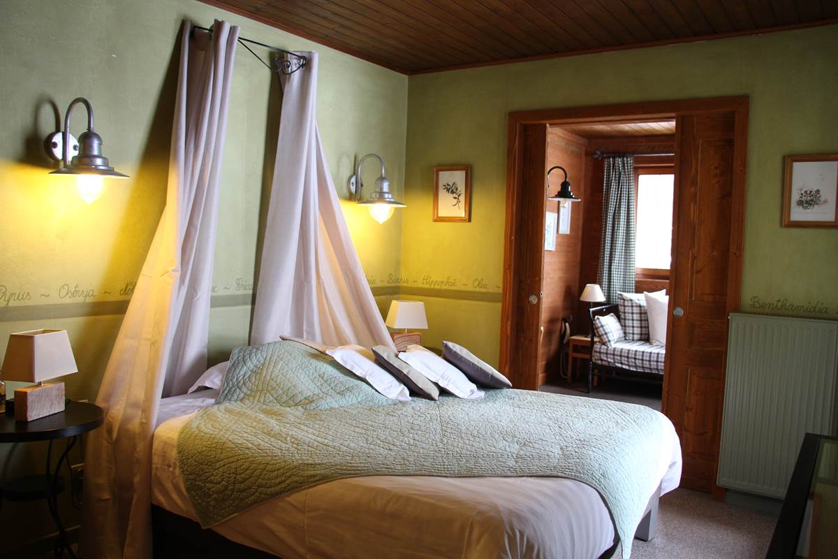 chambre herbier deco campagne