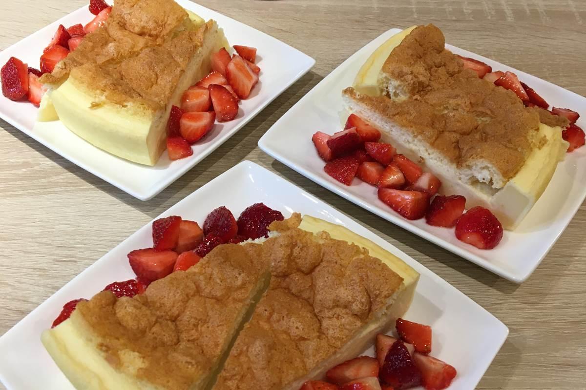 breakfast gâteau fraises feuillantines dordogne