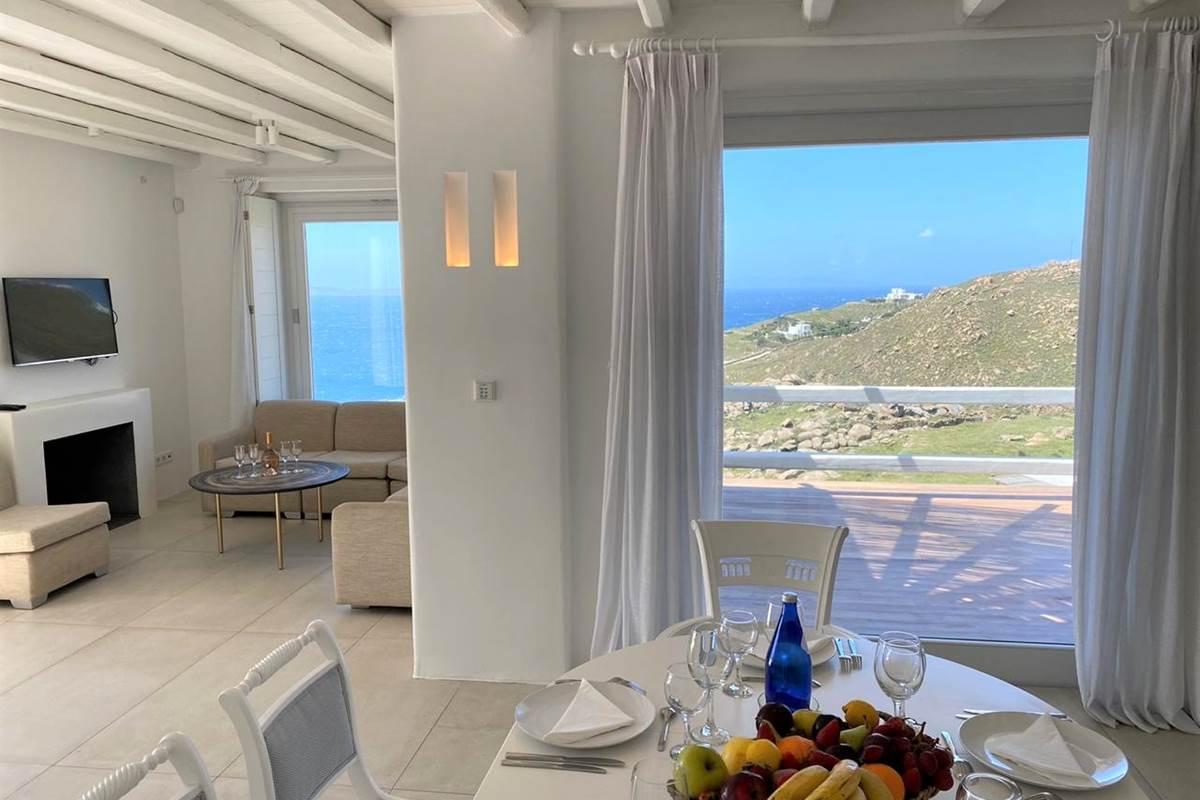Salon  salle à manger  Villa Zélia