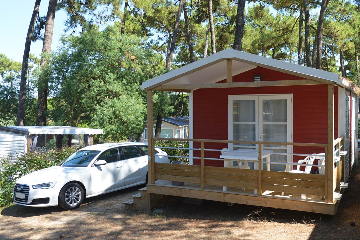 Mobil-Home 1 ch Crevette - Camping Les Pins - Ile d'Oléron