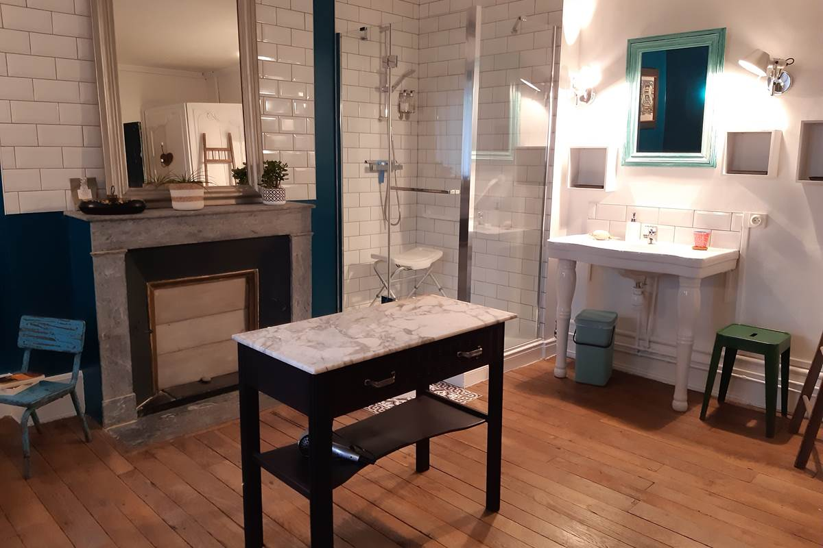 chambre Colibri salle de bain
