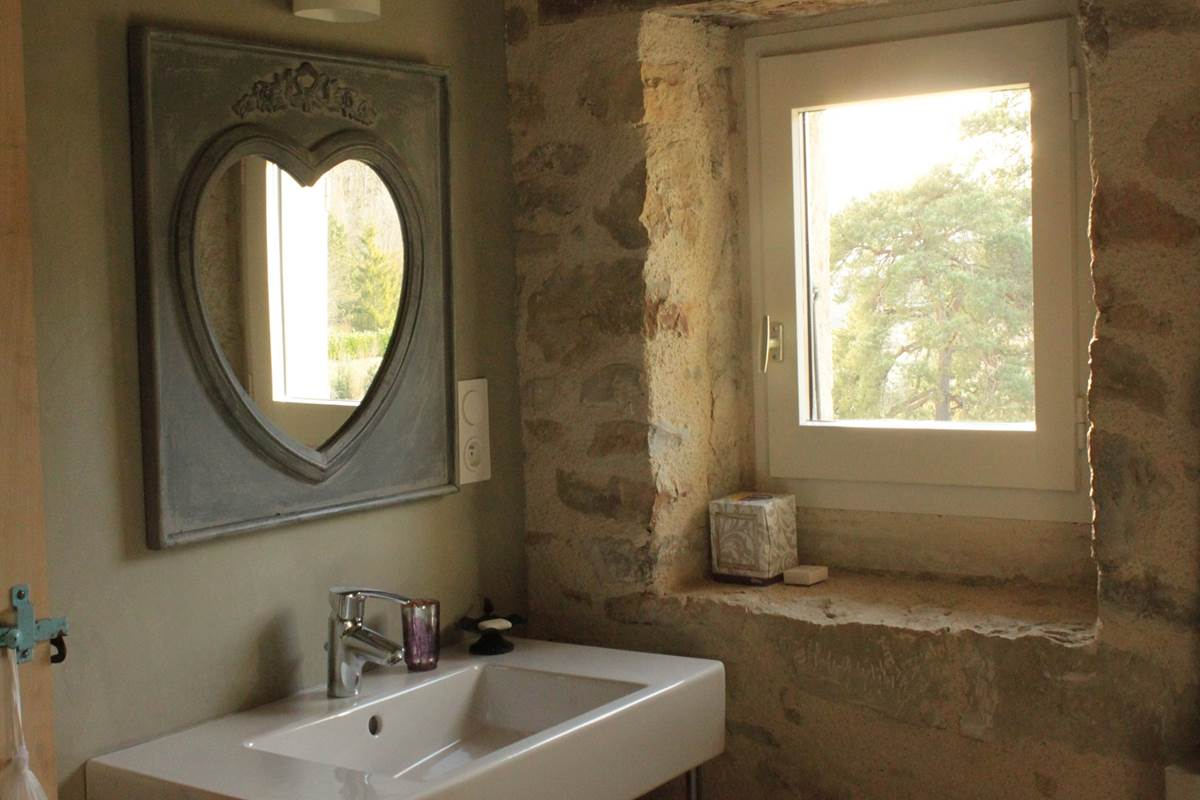 Détail ambiance salle de bain