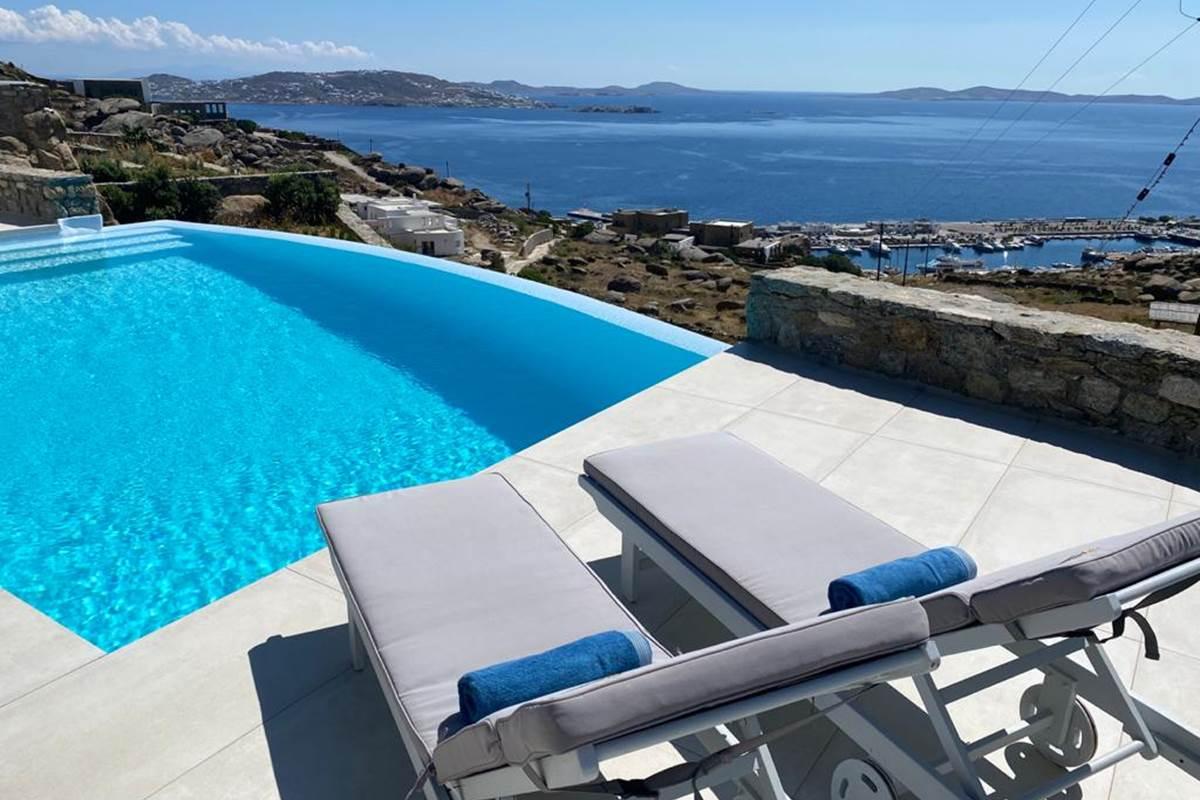 Piscine Villa Zélia Mykonos