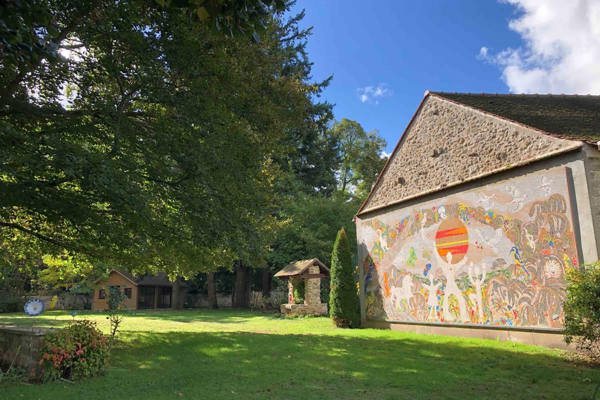Le Clos Saint Lubin - Le parc
