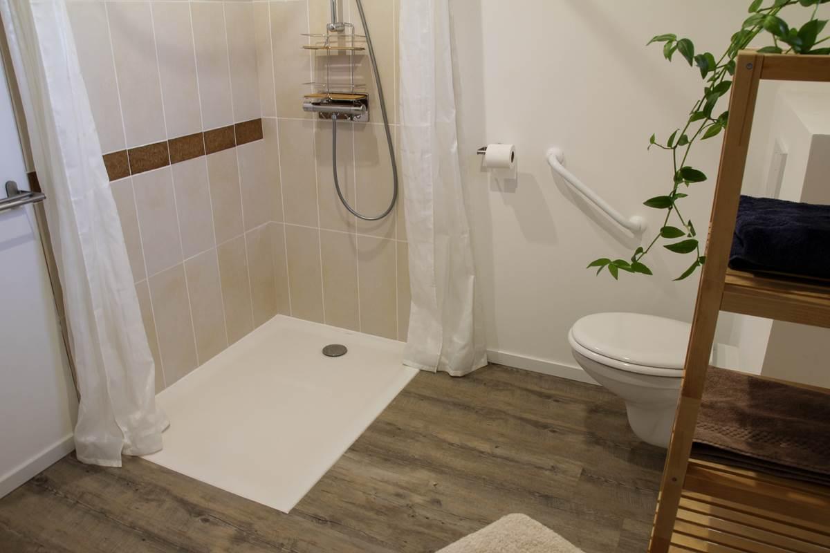 Le Répit de l'Oust - Salle de bain confort (normes PMR)