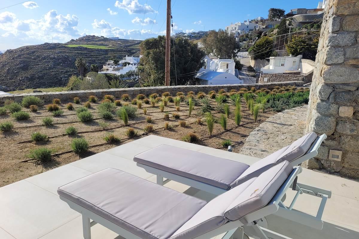 Villa Zélia Mykonos beds chambres