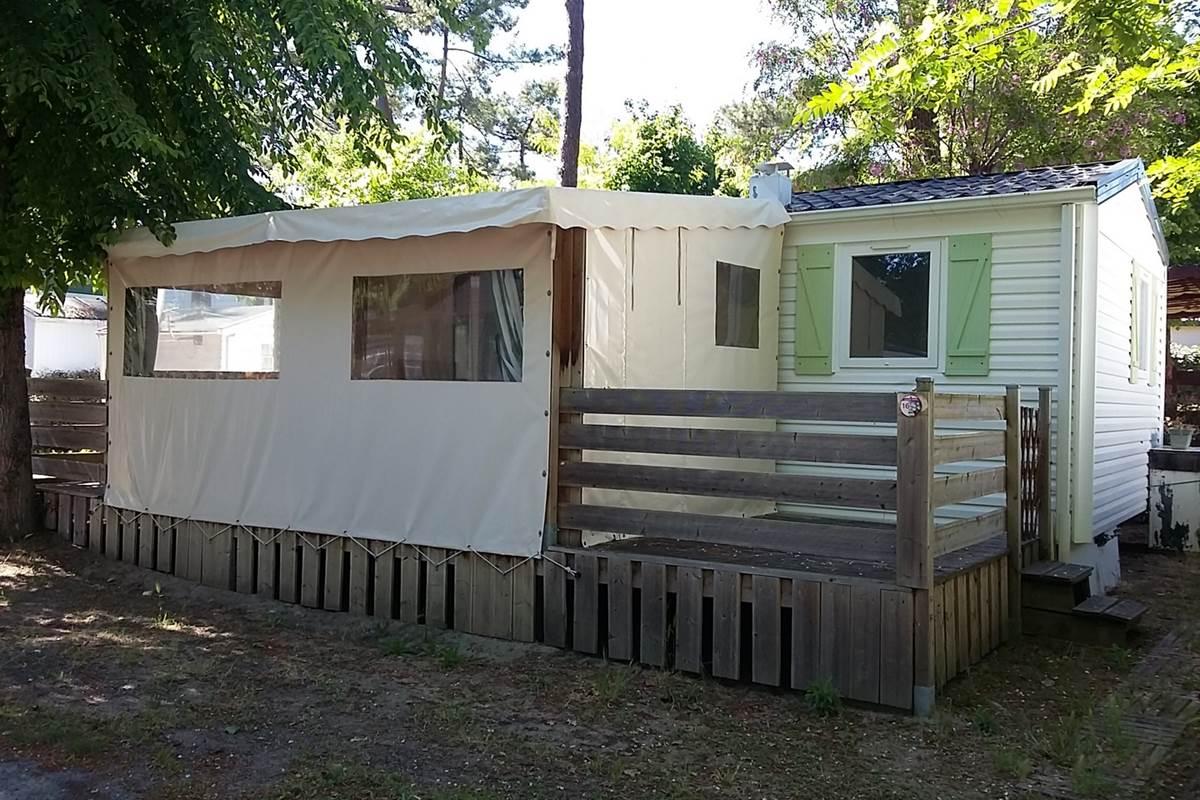 Mobil-Home Seiche - Camping Les Pins d'Oléron - Ile d'Oléron