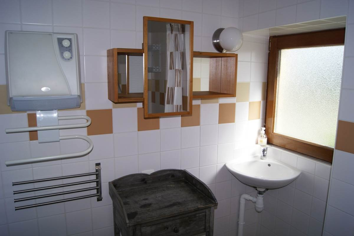 gite 4 - Chapiteau - salle d'eau
