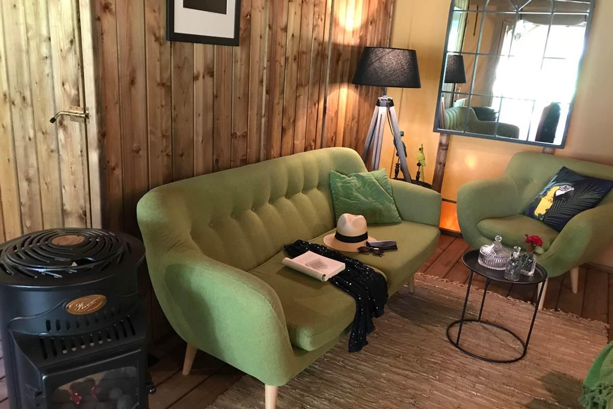 Salon Tente Elisabeth Les Lodges du Château