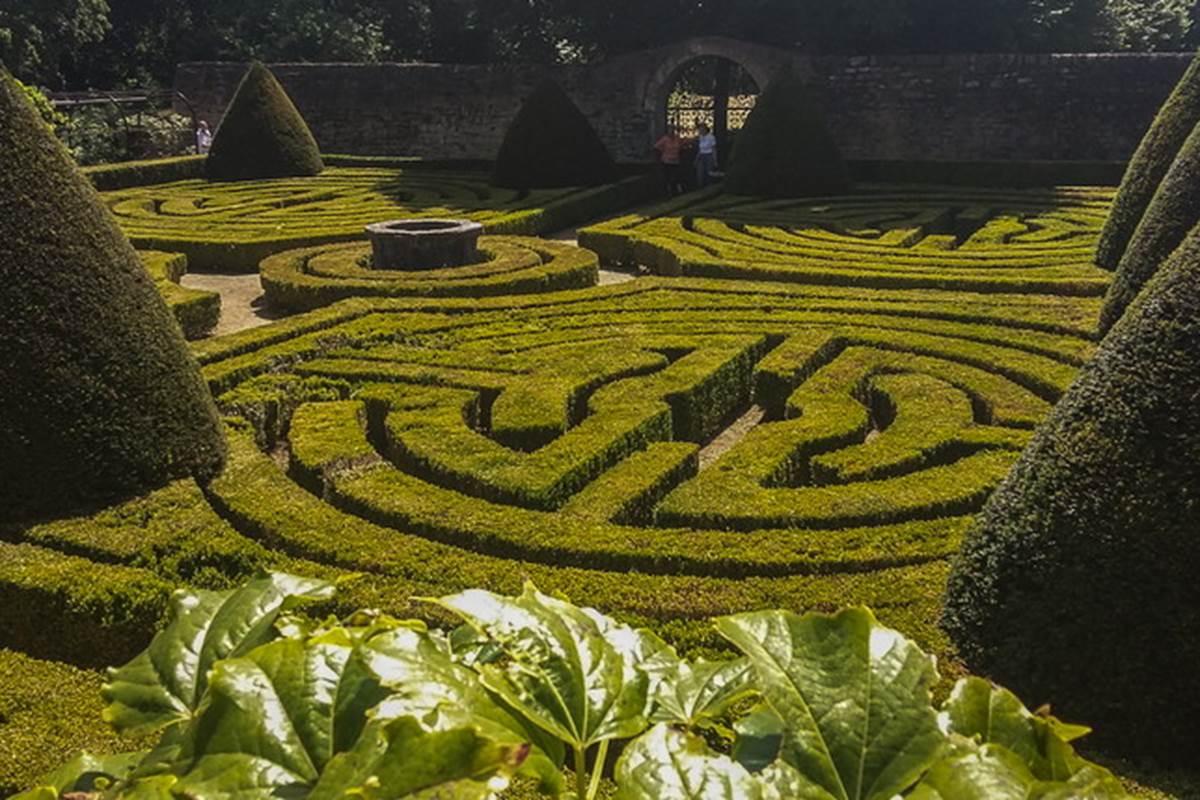 Jardins du château de Montal © Lot Tourisme - A. Leconte