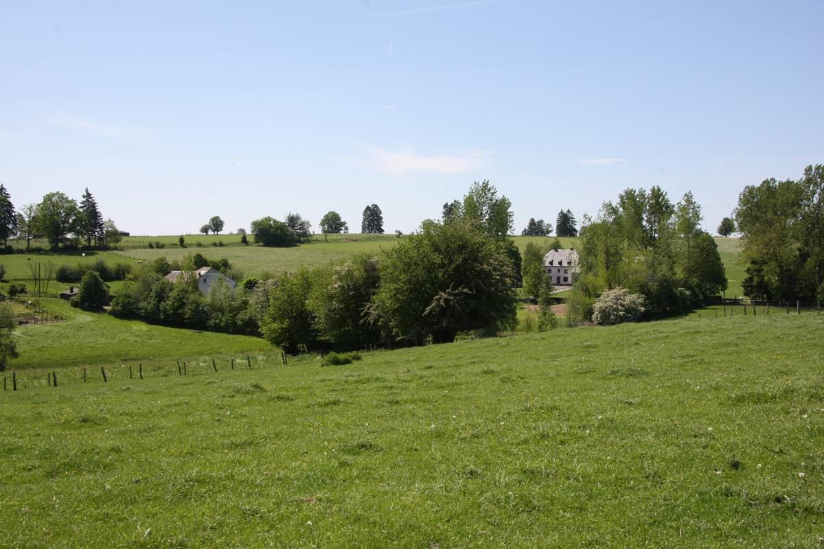 Vue sur le hameau de Vaux