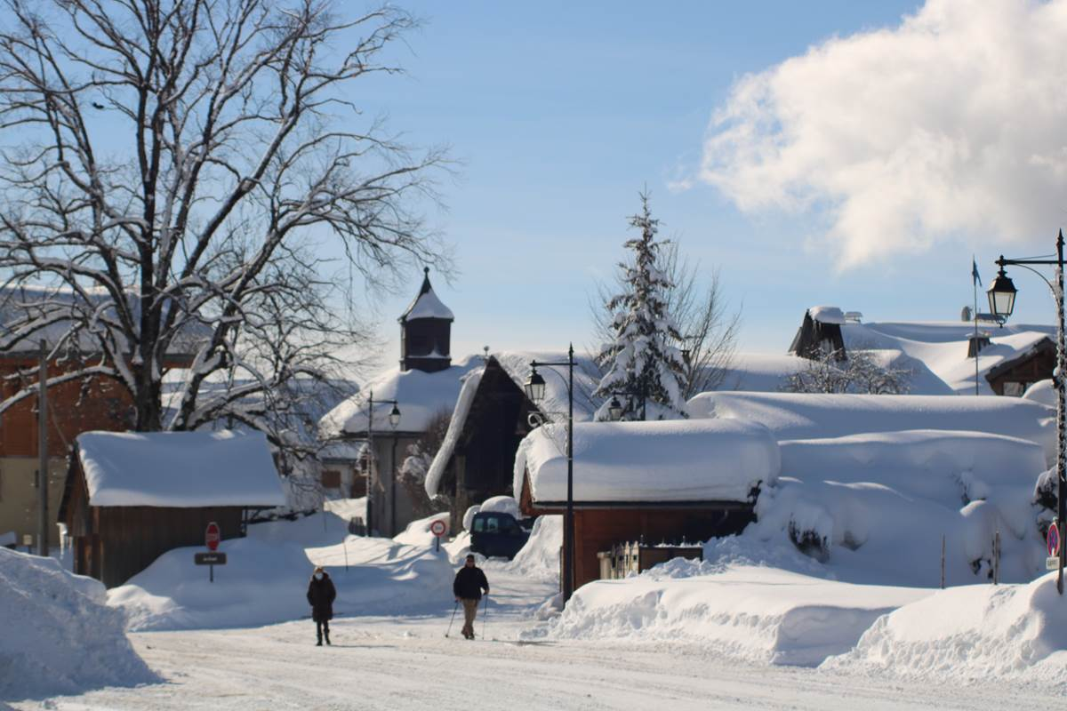 Le Village de Crest-Voland en Savoie