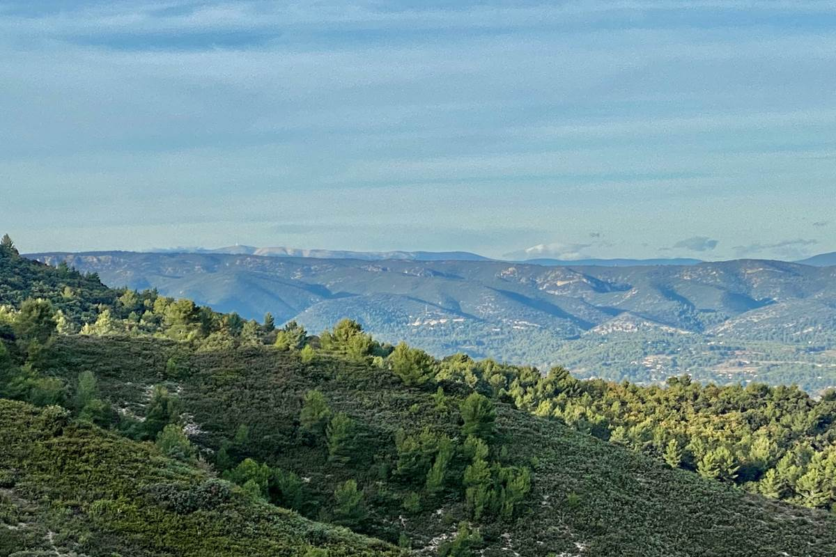 Vue du Mont Goiron