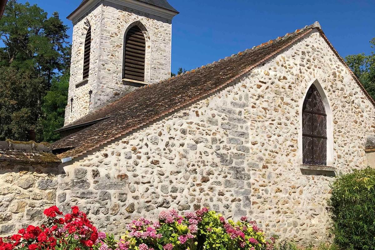 Le Clos Saint Lubin - L'église