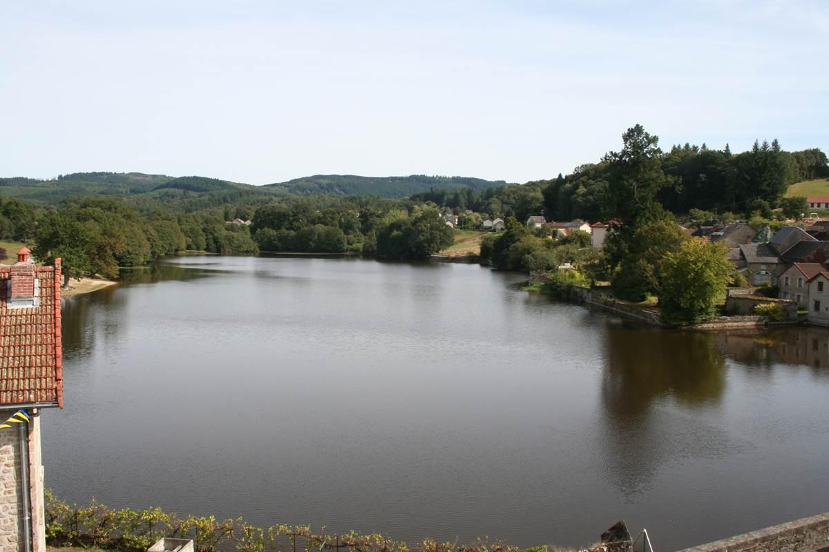 Vue sur le Lac de la chambre
