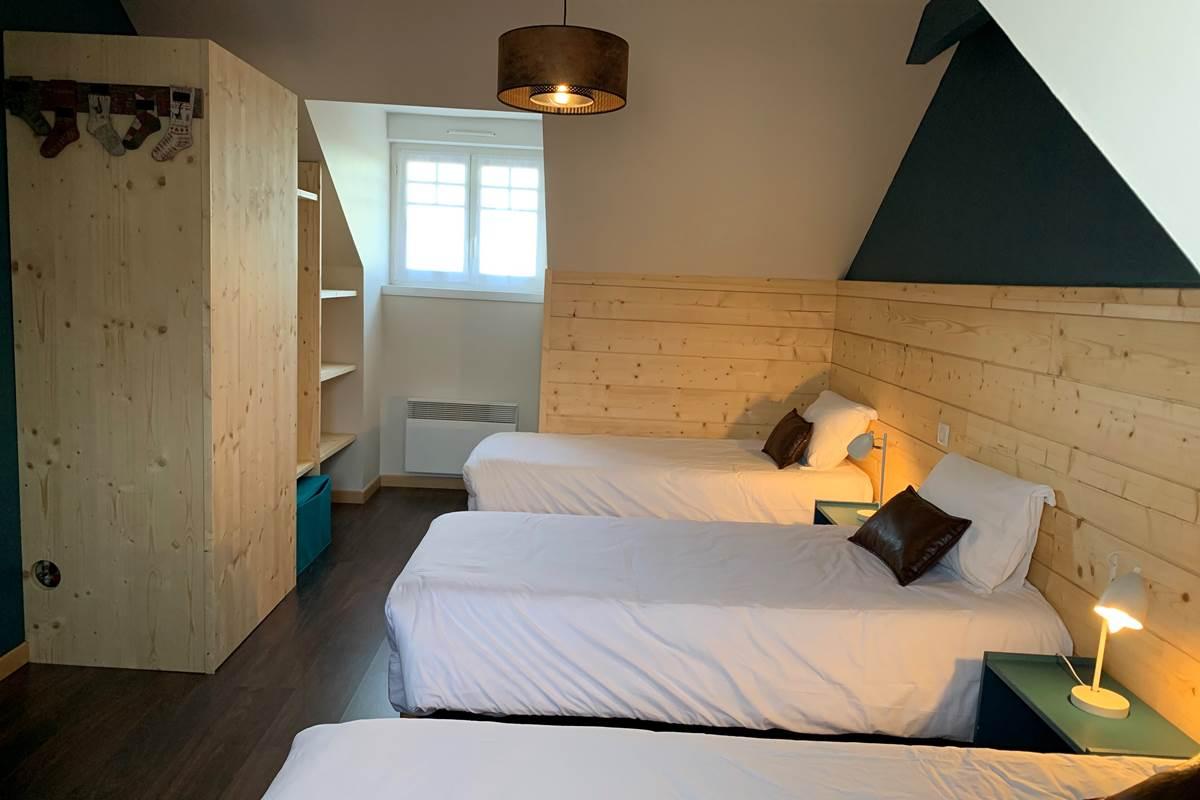 Chambre -T3 Appart-Hôtel les Palombières
