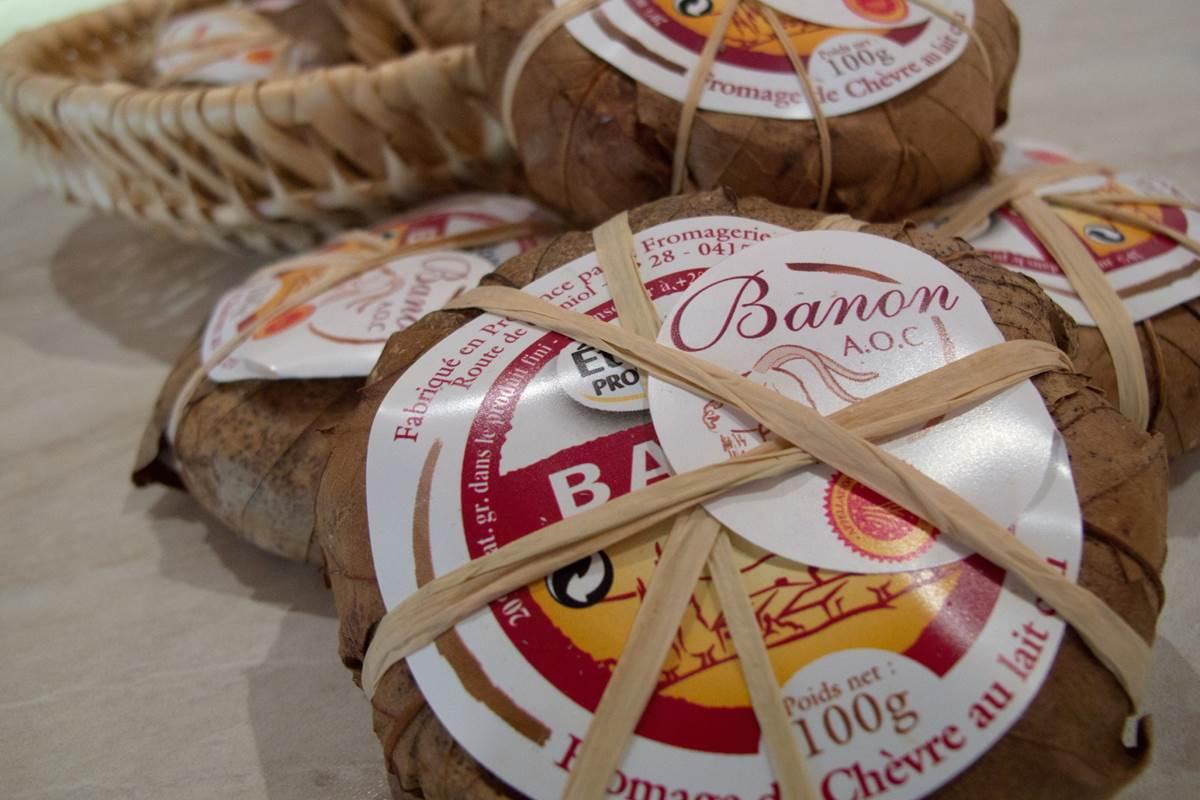 Le fameux fromage de Banon