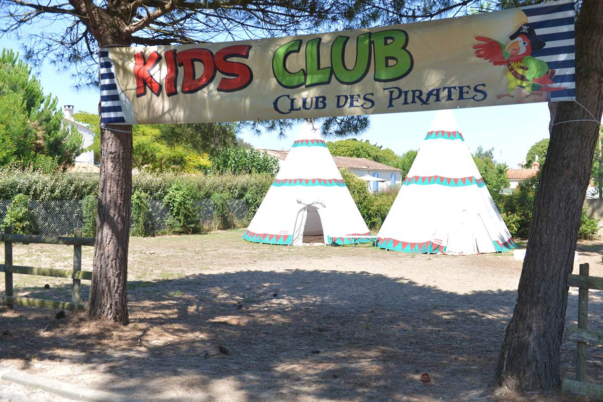Club Enfant - Camping Les Pins d'Oléron - Ile d'Oléron