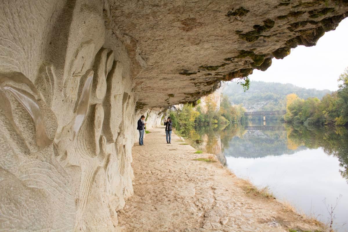 Chemin de halage - Bouziés