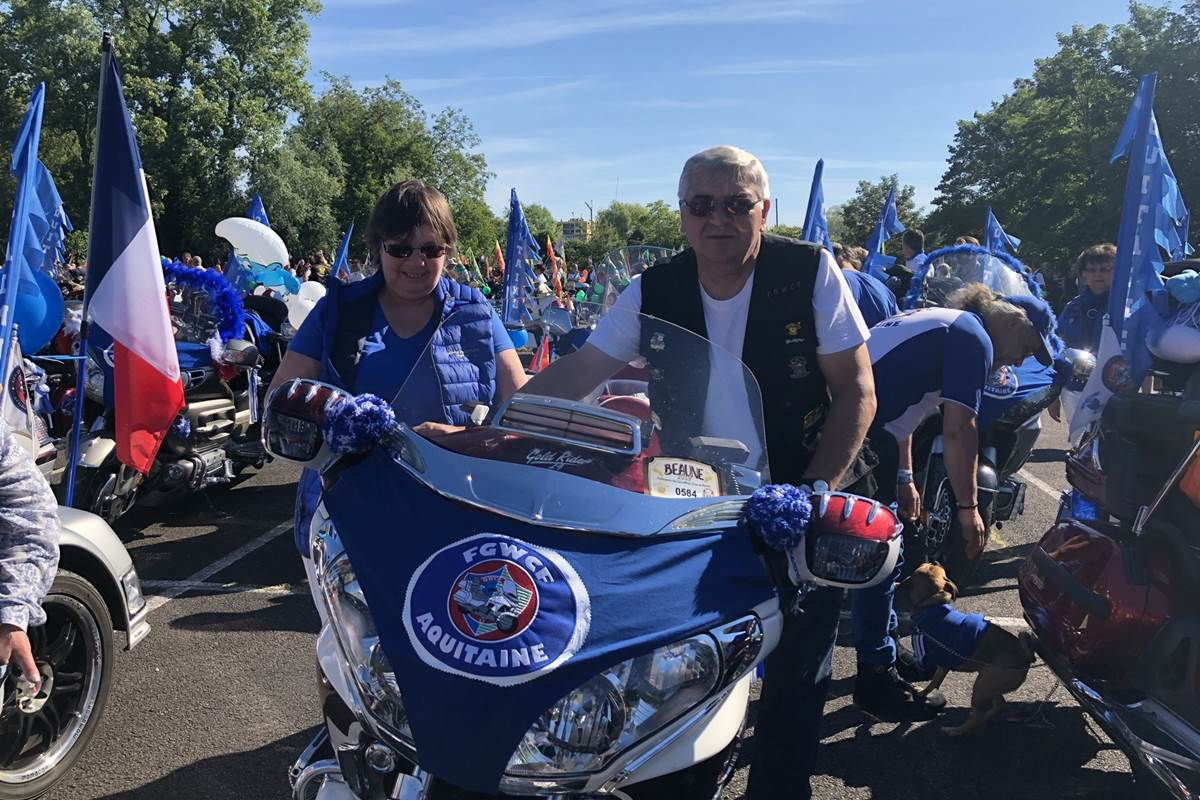 Avec le Club Aquitaine à l'Inter Goldwing de Beaune