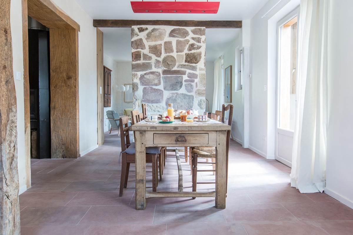 Maison joangi salle petit déjeuner