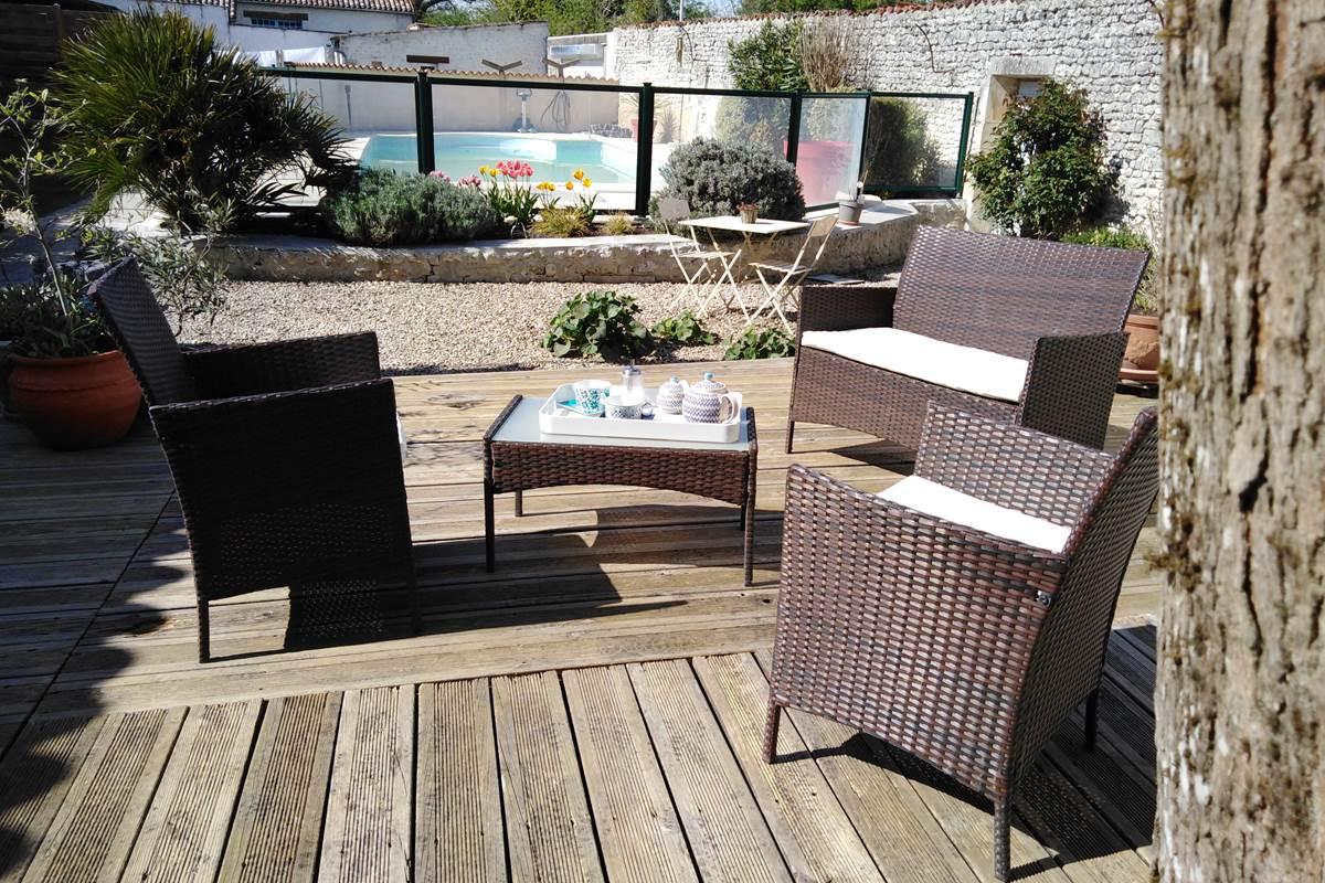 Terrasse pour se détendre maison ADALIE