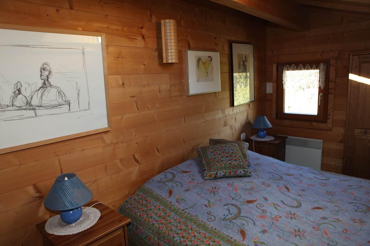 Chambre 2 du deuxième niveau, 1 lit de 160 ou 2 lits de 80 (+ un lit pour bébé)