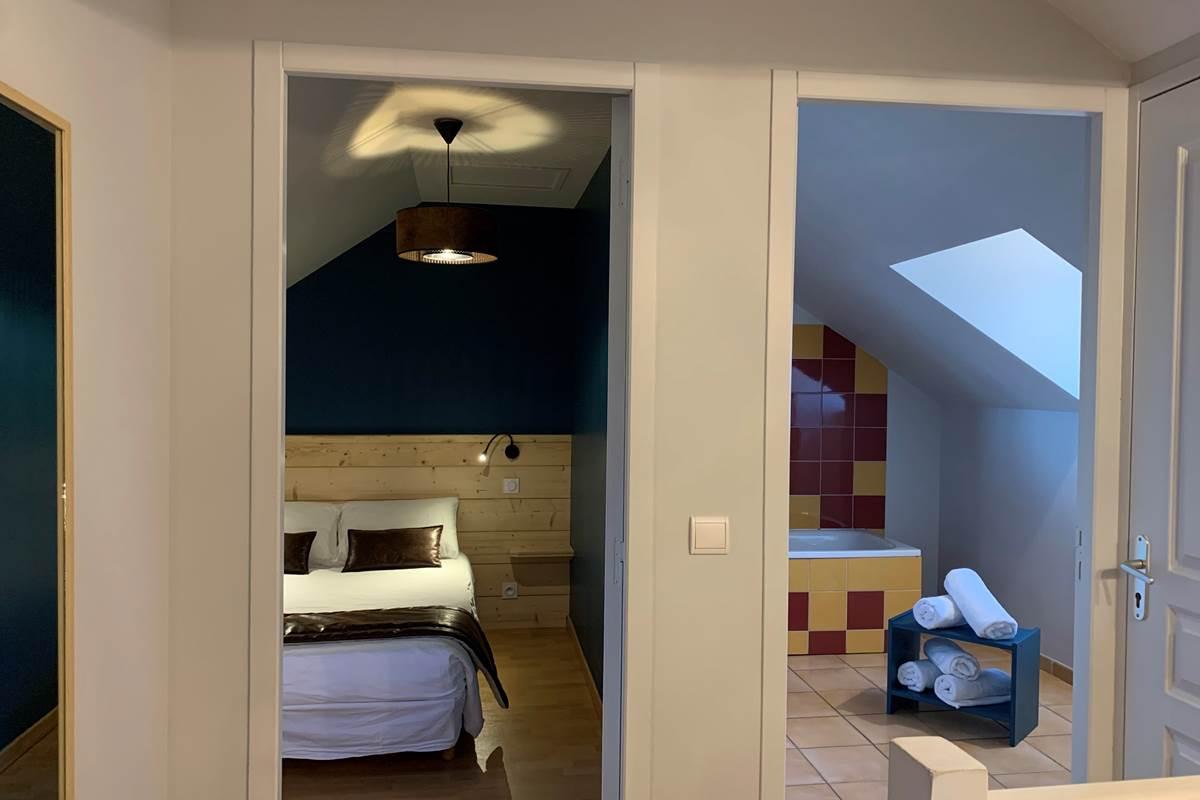 SDB T3 Appart-Hôtel les Palombières