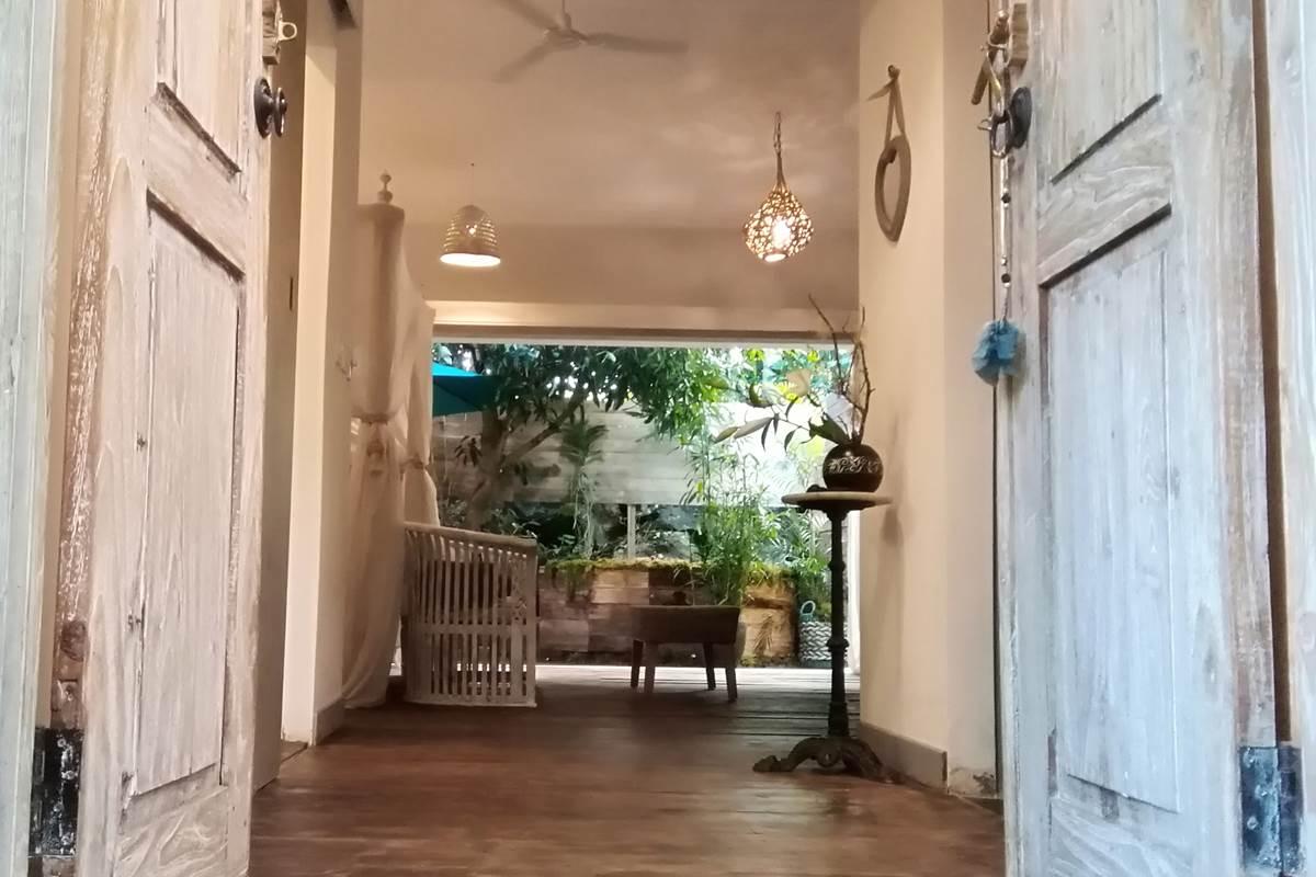 Entrée Suite Romantique Jardin de Ravintsara