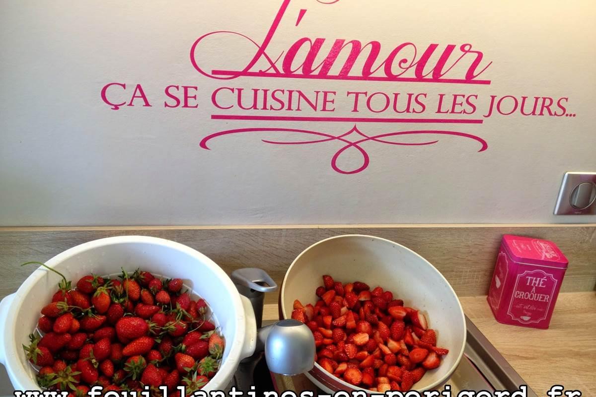 fraises périgord Feuillantines bnb