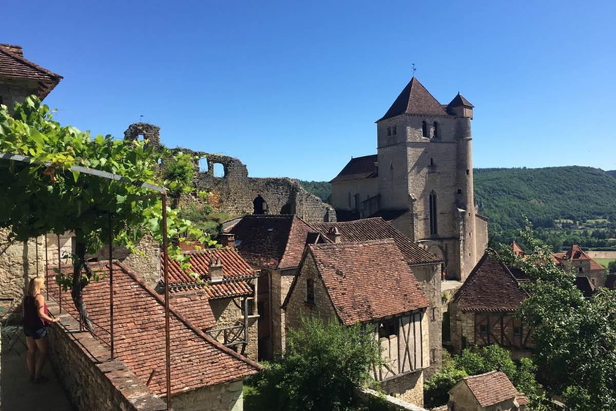 St Cirq, ses maisons de caractère, son église © Lot Tourisme C. Séguy