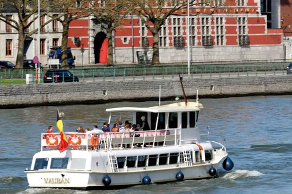 La navette fluviale de Liège