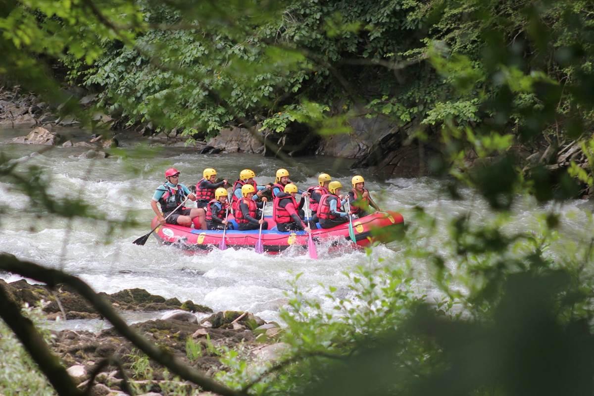 rafting canyoning canoé kayak