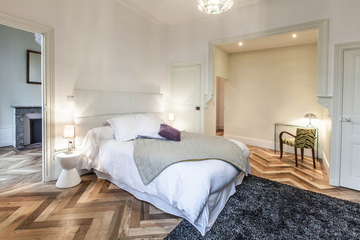 Suite St Taurin Chambre