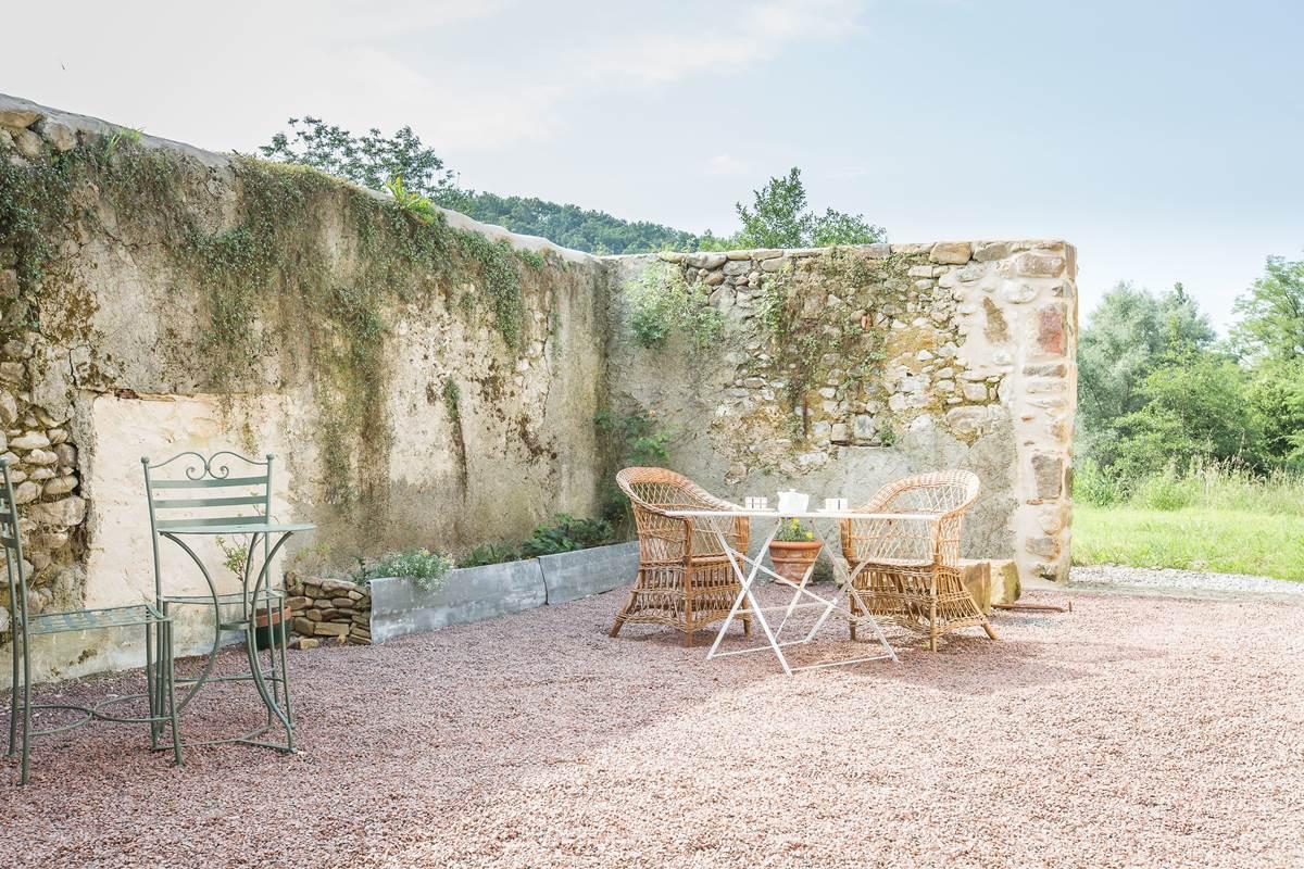 Maison Joangi coin terrasse