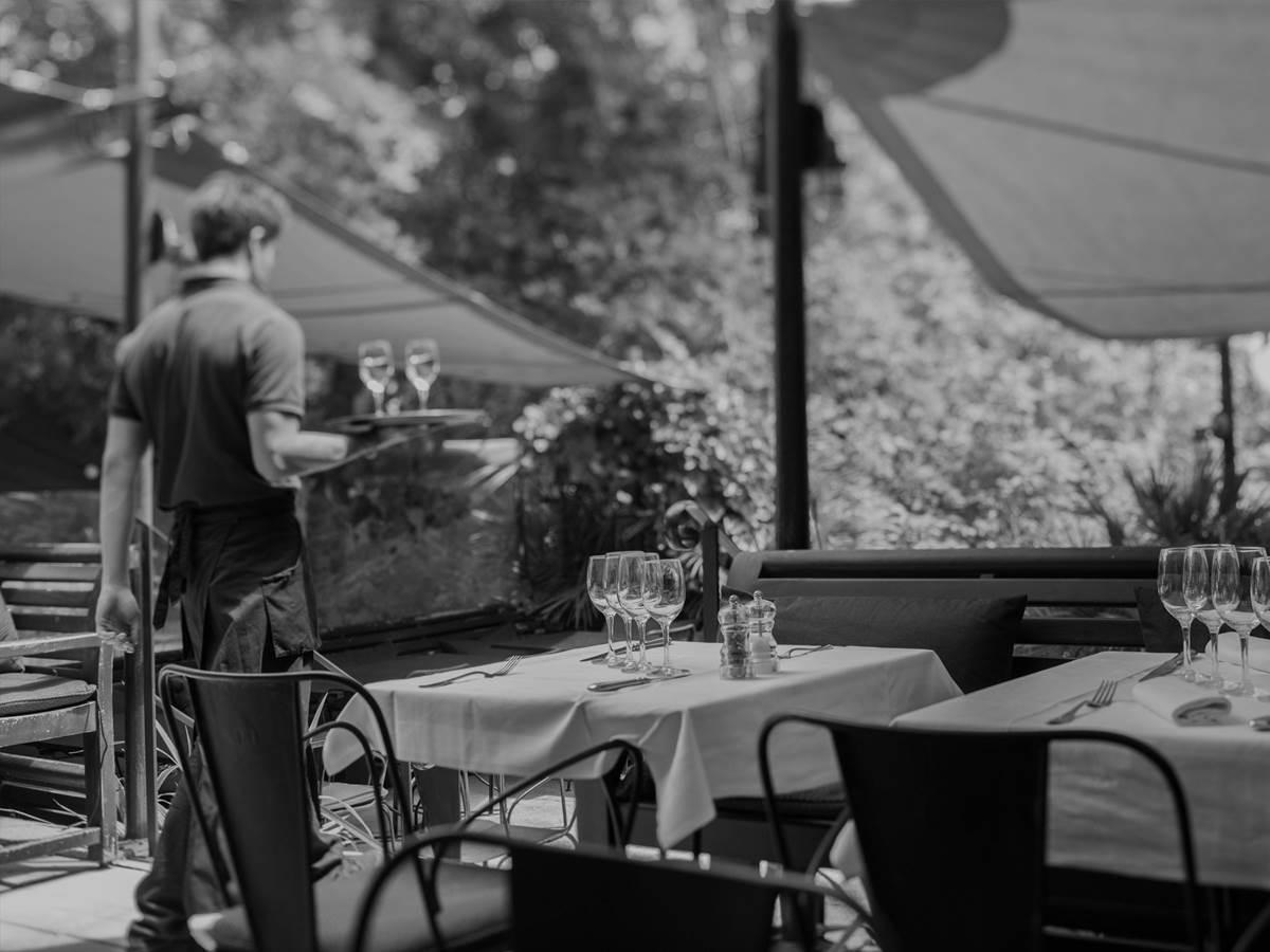 Restaurant de l'Hôtel Ville d'Hiver et sa Cabane sur la Plage