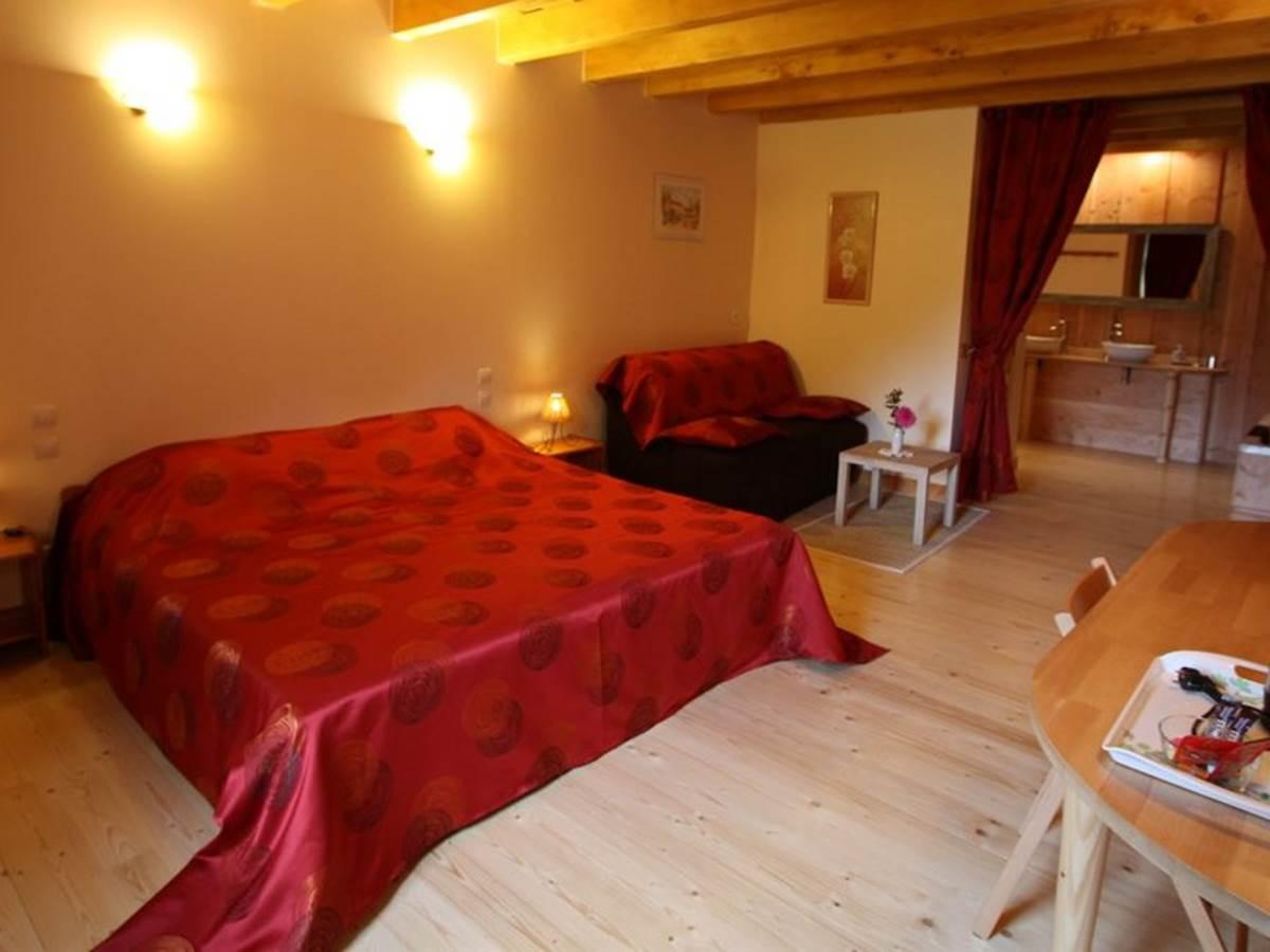 Chambre d'hôtes Rubis 2 à 5 personnes La landre, Le Clerjus, Bains les Bains, la Voge les Bains, Lorraine, Vosges